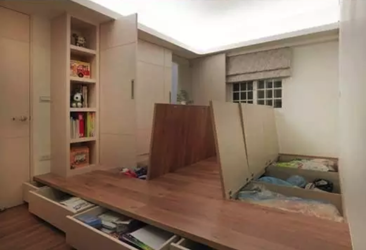 storage under the floor and other unique home renovations