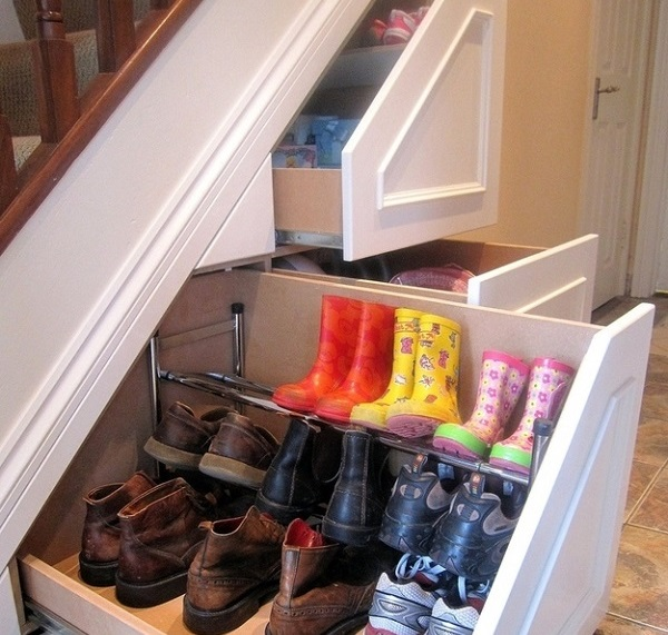 drawers under stairs and other unique home renovations