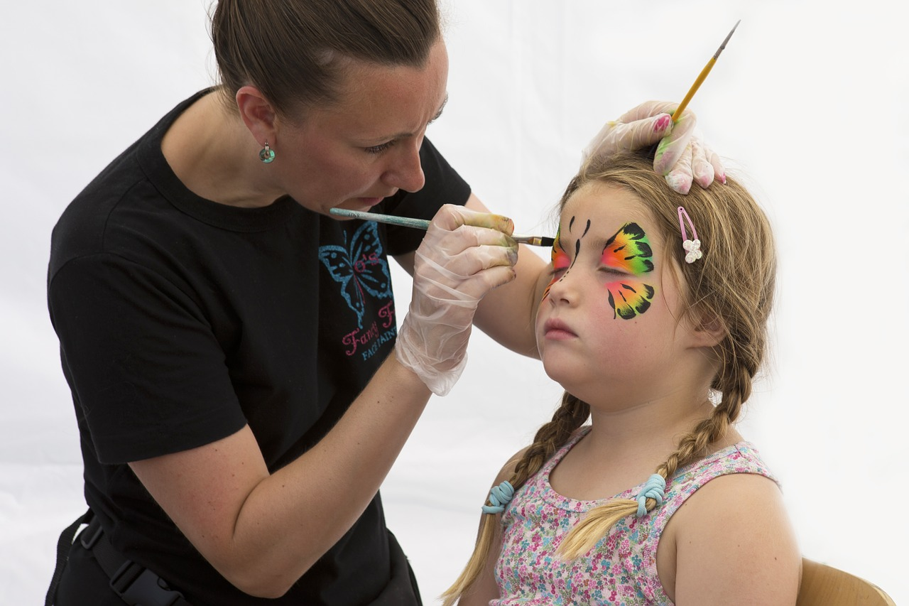 face painting and other bayonne spring events