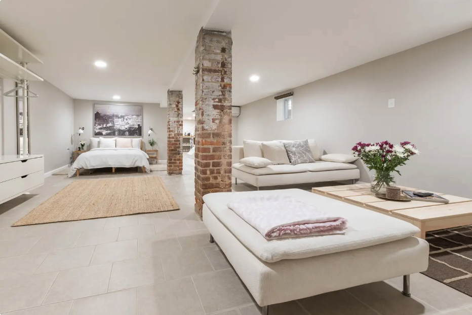 a stunning bayonne basement, one of the best gold coast airbnb listings