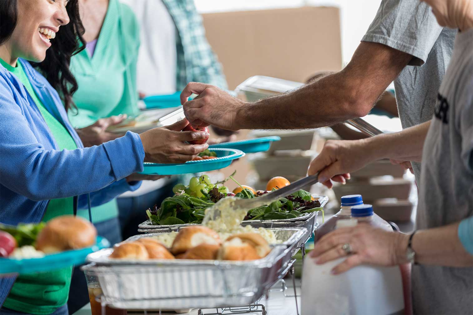 providing meals to those in need